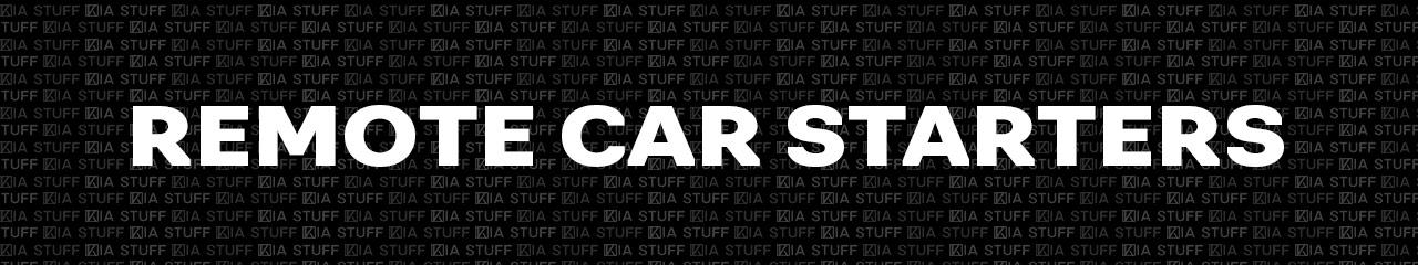Genuine Kia Remote Car Starters