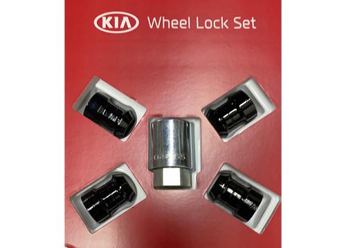 2021 Kia Sorento Black Wheel Locks   Kia Stuff