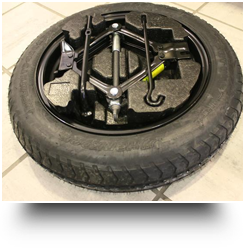 KIA SPARE TIRE KITS