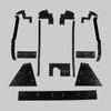 Mopar A Body 66 Dart MEGA Splash Shield Set -Auto