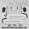Mopar B Body 70 Charger MEGA Resto Paint Gasket Set - Non AC