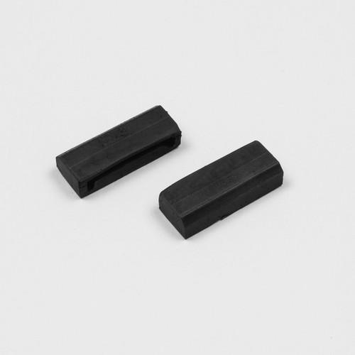 Mopar E Body 70-74 B 71-74 Door Glass Anti Rattle Alignment Clips pair DMT