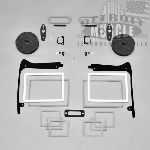 66-67 B BODY 67-70 A BODY OUTSIDE DOOR HANDLES NEW PAIR 2 DAY SALE