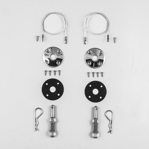 "1969 70 Coronet Super Bee R//T Stainless Steel Hood Pin Kit 23/"" NEW MoPar"