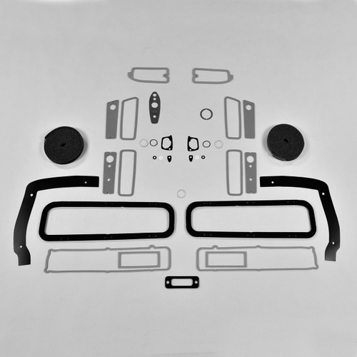 DMT Mopar B Body 1969 69 Coronet RT BASIC Paint Exterior Gasket Set Taillight
