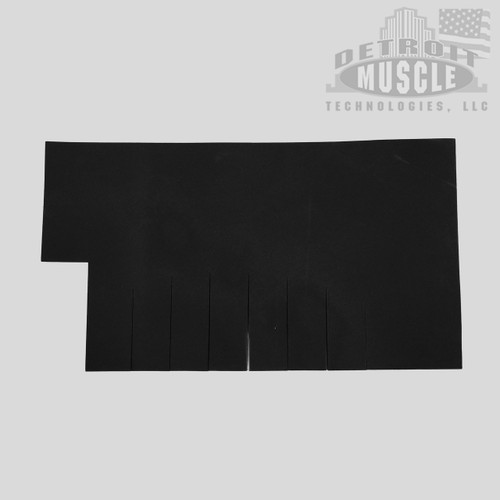 "Mopar A Body 67-76 Dart, Duster, Valiant Fuel Gas Tank Pad Insulation - .250"" Foam Rubber"