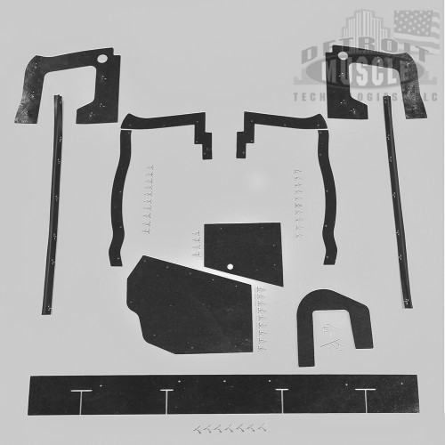Mopar B Body 67 Coronet MEGA Splash Shield Set -Auto