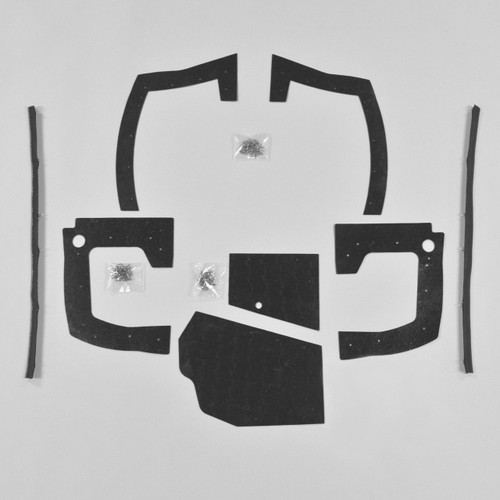 Mopar B Body 68 69 Charger MEGA Splash Shield Set -Manual