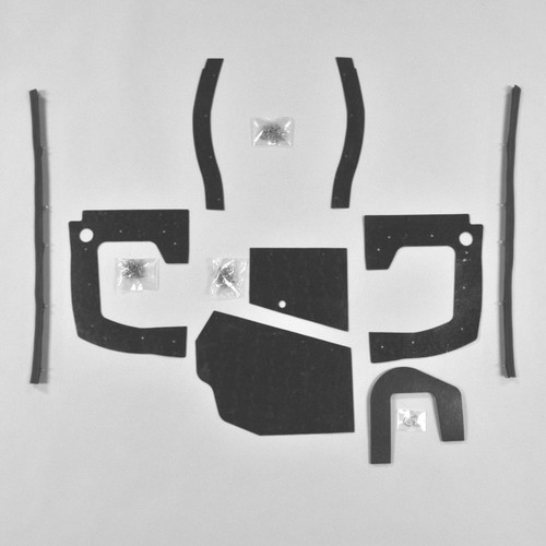 68 69 Coronet Super Bee Front Bumper Lower Shield Stone AMD
