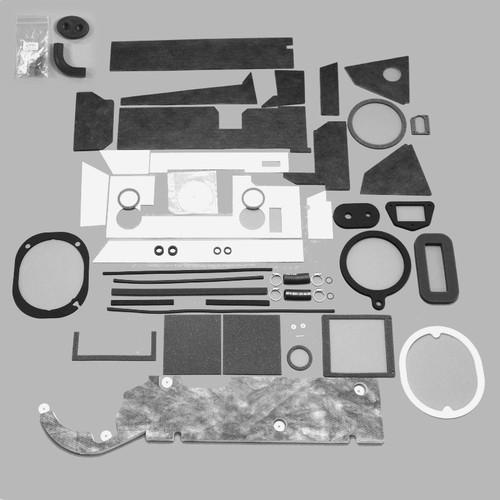 Mopar B Body 66-70  BIG AC Heater Box Rebuild Restoration Seal Gasket Kit