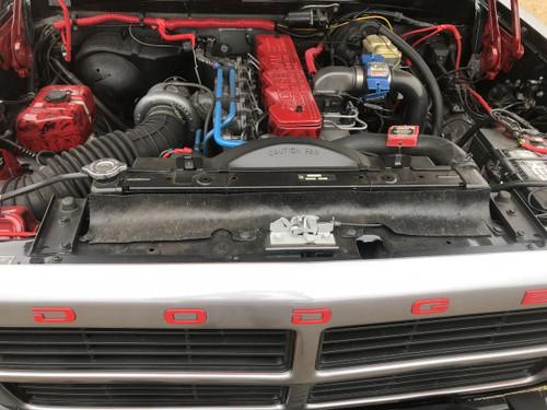 1St Gen Cummins >> Dodge Truck 89 91 1st Gen Cummins Diesel Radiator Splash Shield Seal