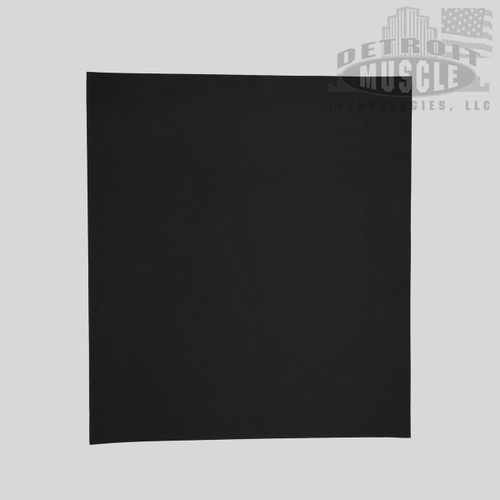 Mopar B Body 71-73 Charger, Coronet, Satellite Fuel Gas Tank Pad Insulation - .070 Felt Paper