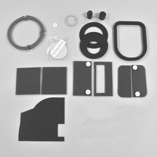Mopar  E Body 70-74 BASIC NON AC Heater Box Rebuild Restoration Seal Gasket Kit