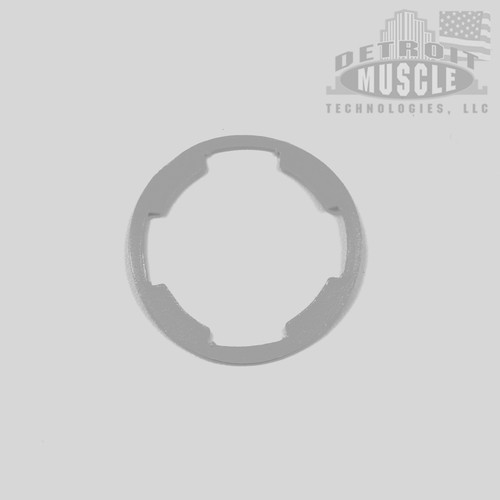 Mopar A B C E Body 62-72 Door and Trunk Lock Gasket - GRAY