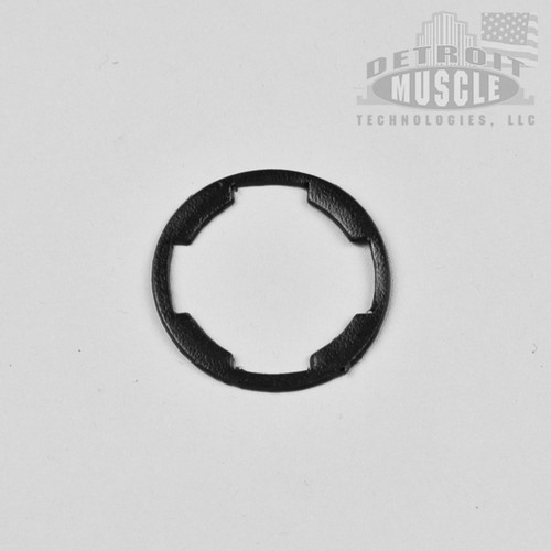 Mopar A B C E Body 62-72 Door and Trunk Lock Gasket - BLACK