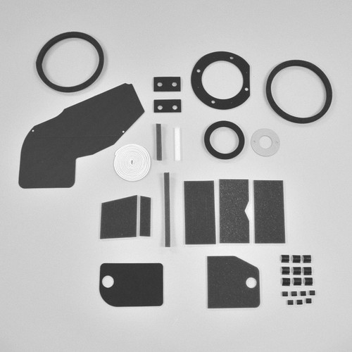 Mopar A Body 63-66 BIG NON AC Heater Box Rebuild Restoration Seal Gasket Kit