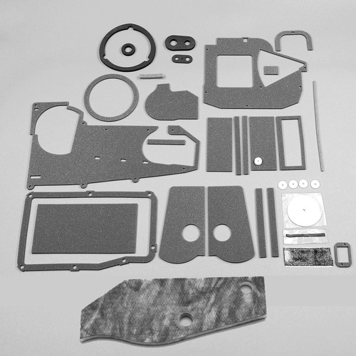 Mopar A Body 73-76 AC Heater Box Rebuild Restoration Seal Gasket Kit