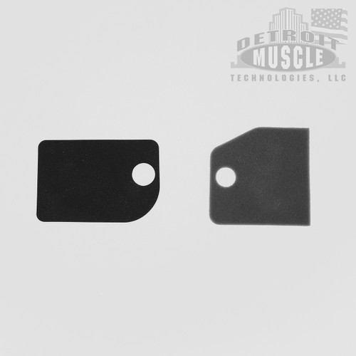 Mopar A Body 63-66 Fresh Air Vent Door Foams (pair)