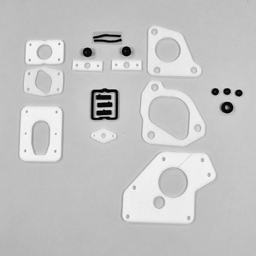 Mopar A Body 63-66 B Body 62-65 BLACK Wiper Pivot Gasket Set Kit DMT