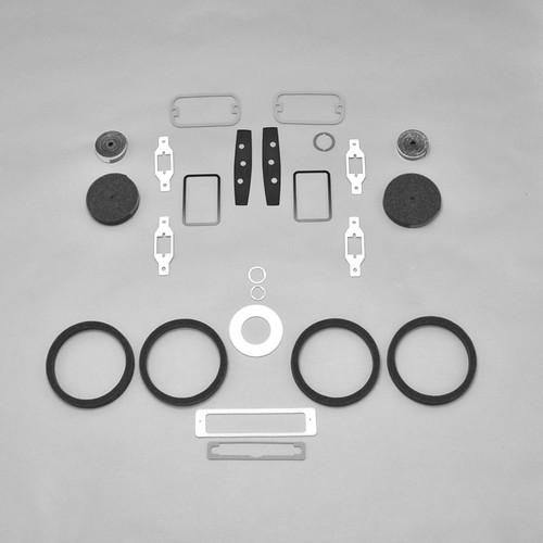 Mopar 70 71 72 73 74 E-Body Challenger Cuda Hood Alignment Wedges w// Screws  NEW