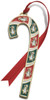 Wallace Annual Candy Cane Ornament 2012