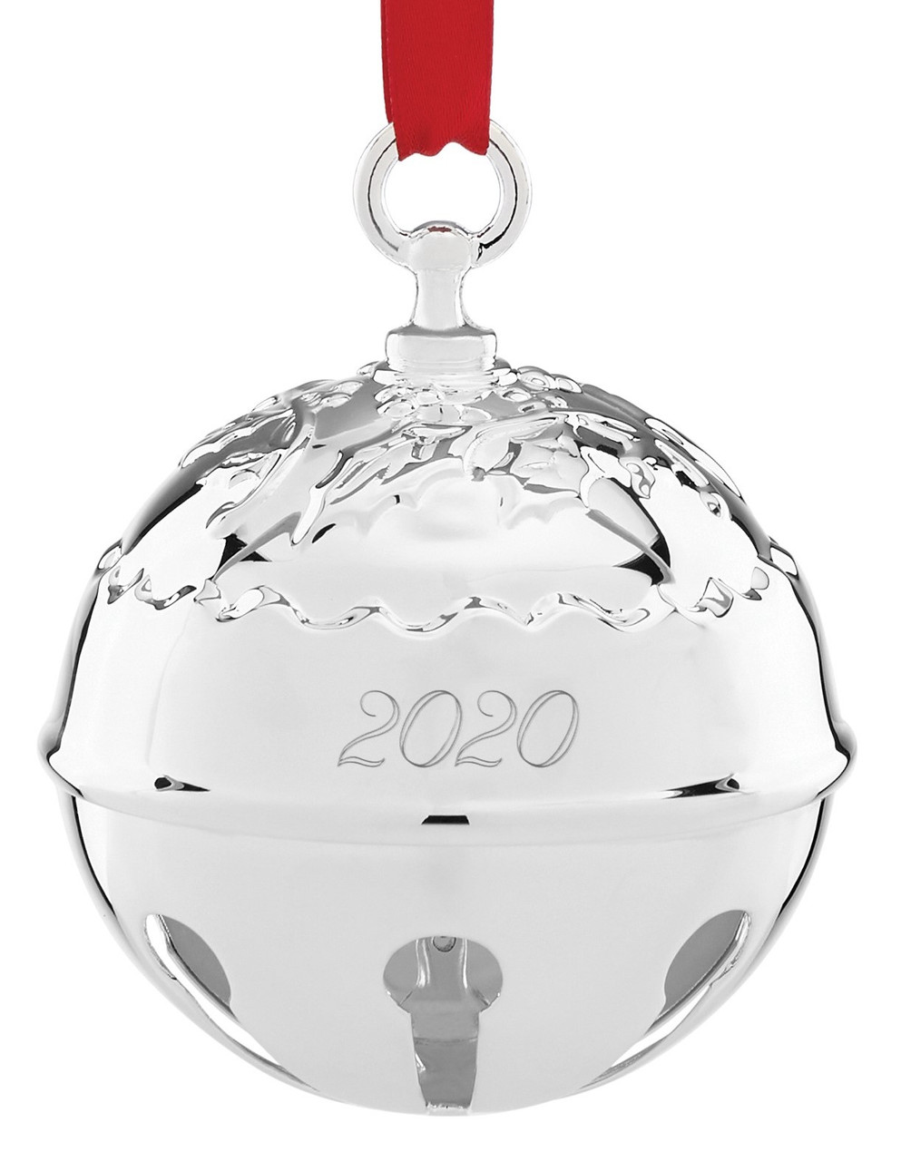 Reed And Barton Christmas Cross 2020 Thurbers Reed & Barton Annual Holly Bell Ornament 2020   Thurbers of Richmond