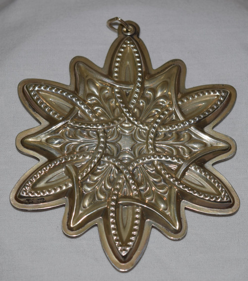 Towle Annual Celtic Cross Ornament 2003
