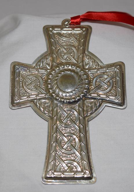 Towle Annual Celtic Cross Ornament 2004