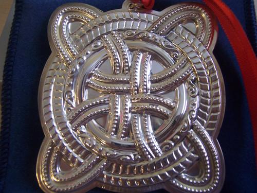Towle Annual Celtic Cross Ornament 2005