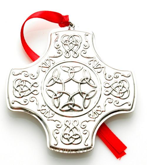 Towle Annual Celtic Cross Ornament 2007