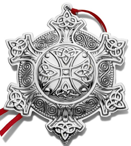 Towle Annual Celtic Cross Ornament 2010