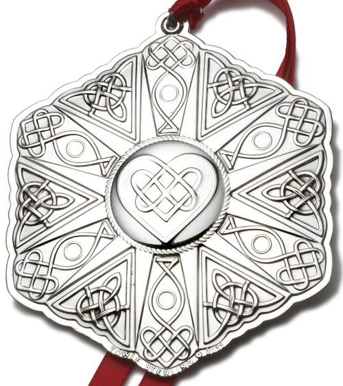 Towle Annual Celtic Cross Ornament 2011
