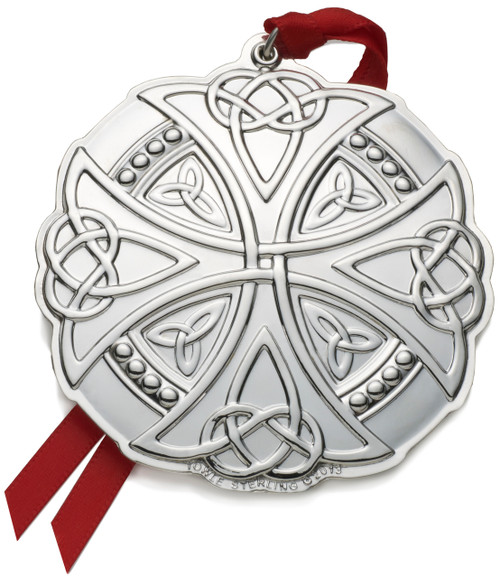 Towle Annual Celtic Cross Ornament 2013