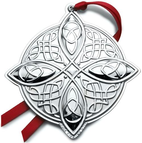 Towle Annual Celtic Cross Ornament 2014