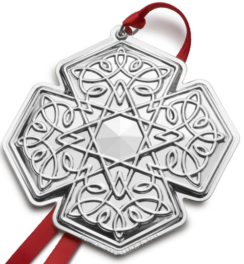 Towle Annual Celtic Cross Ornament 2015