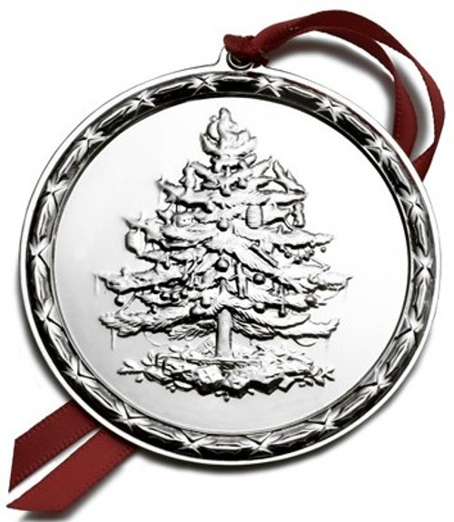 Spode Sterling Christmas Tree Ornament 2008