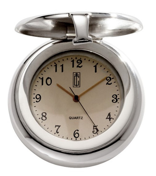 JT Inman Sterling Pocket Watch