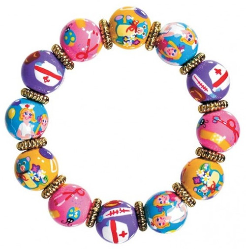 Angela Moore Nurse Nancy Classic Beaded Bracelet