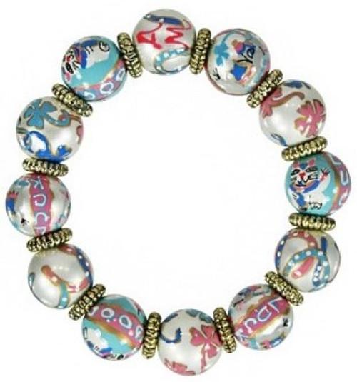 Angela Moore Lucky Day Classic Beaded Bracelet