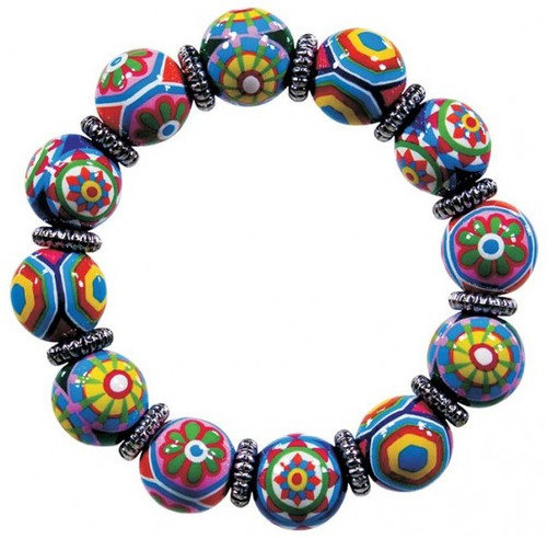 Angela Moore Murano Magic Classic Beaded Bracelet