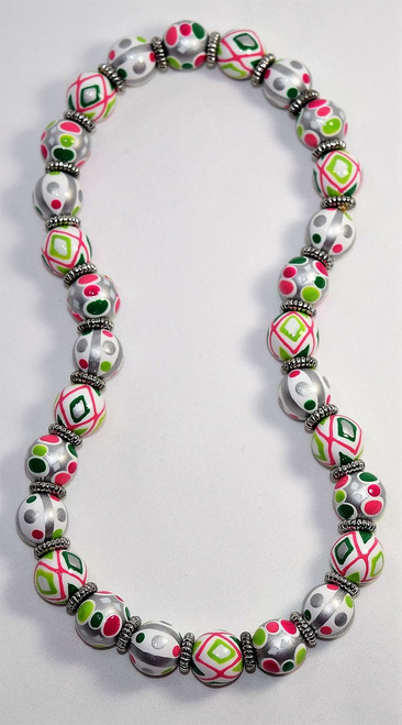 Angela Moore Cool Confetti Classic Beaded Necklace