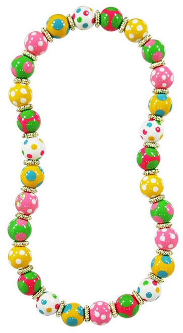 Angela Moore Dotty Delight Classic Beaded Necklace