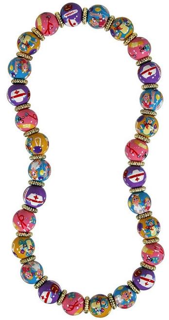 Angela Moore Nurse Nancy Classic Beaded Necklace