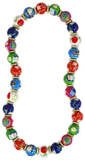 Angela Moore Teacher's Pet Classic Beaded Necklace