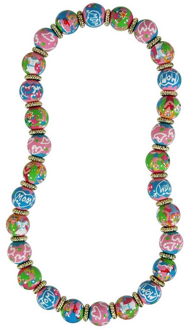 Angela Moore We Love Mom Classic Beaded Necklace