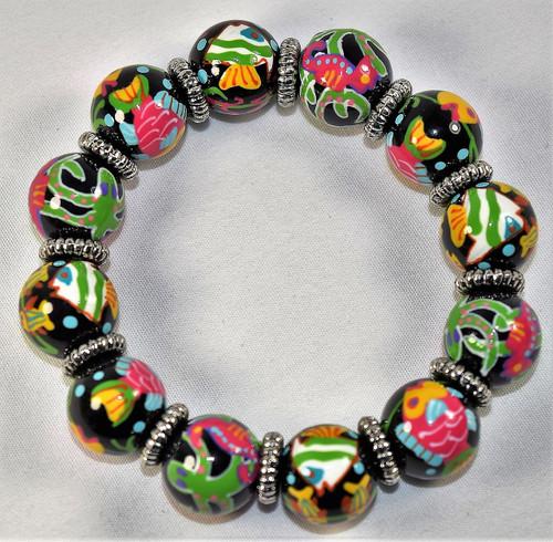 Angela Moore Hot Tropics Classic Beaded Bracelet