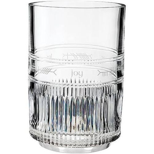 "Waterford Crystal  Ogham Large 12"" Hurricane"