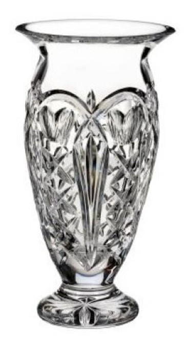 Waterford Crystal  Tom Brennan's Ireland Vase 10""