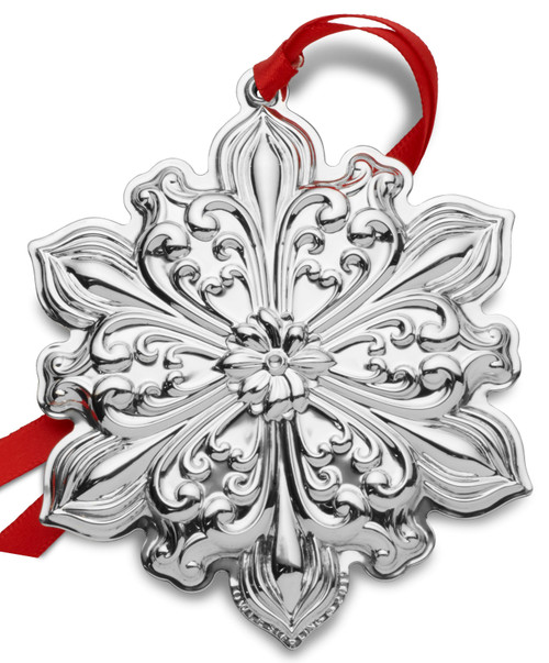 Towle Annual Old Master Snowflake Ornament 2019 - Sterling