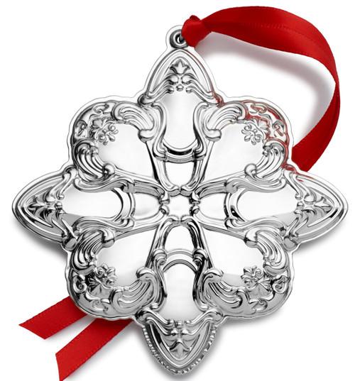 Gorham Annual Chantilly Ornament 2019